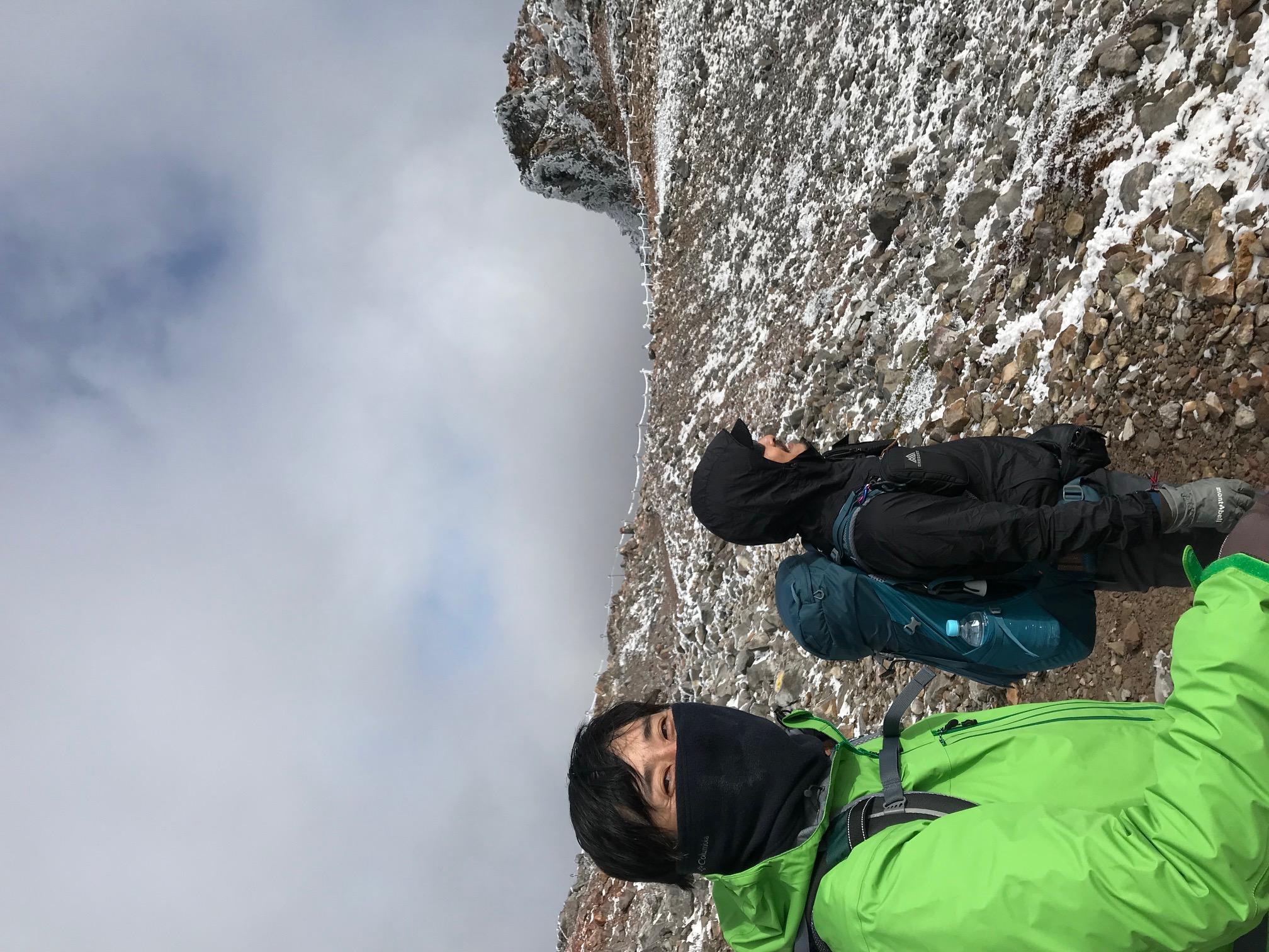 本当に久しぶりな山登り。。